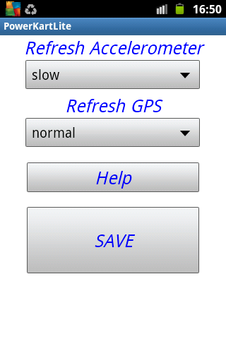 POWER KART LITE Meter - screenshot