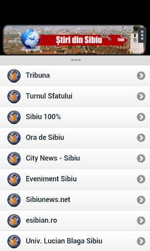 Stiri din Sibiu