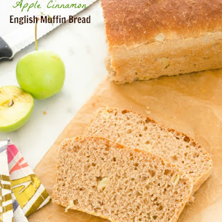 Apple Cinnamon English Muffin Bread.