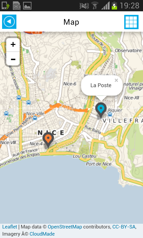 Nice Offline Map Guide Hotels - screenshot