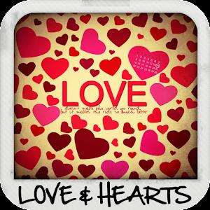 Αγάπη και καρδιές φόντο
