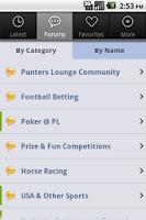 Screenshot of PL Forum