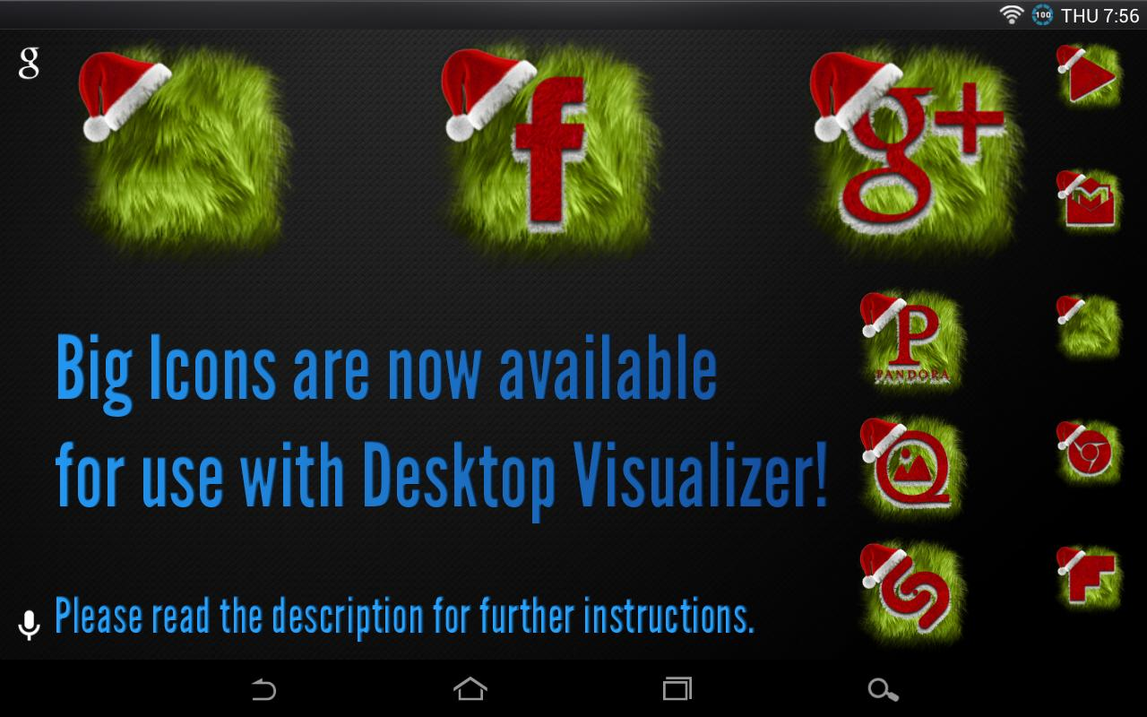 Icon Pack - Christmas - screenshot