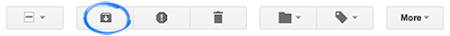 Gmail Archive icon
