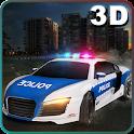 City Police Car Driver Sim 3D icon