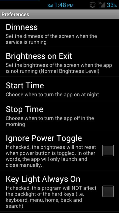 Super Dimmer Pro- screenshot