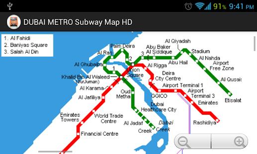 Dubai Subway Map.Dubai Metro Subway Map Hd Free Android App Market