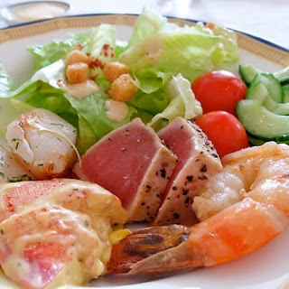 Golden Corral's Seafood Salad