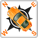 Nawigacja Orange icon