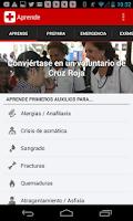 Screenshot of Primeros Auxilios – Cruz Roja