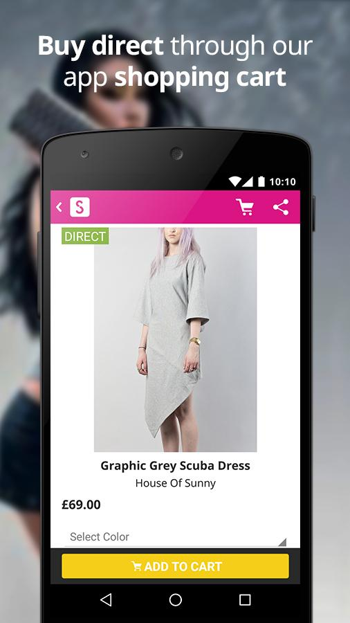 Shopcade - Fashion & Shopping - screenshot
