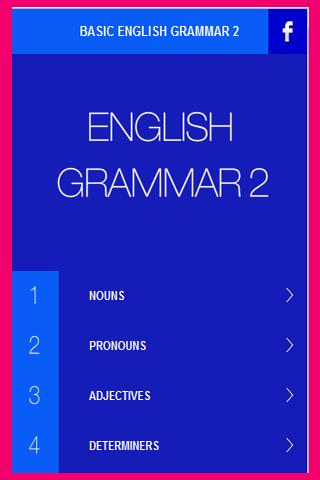 English Grammar Basic