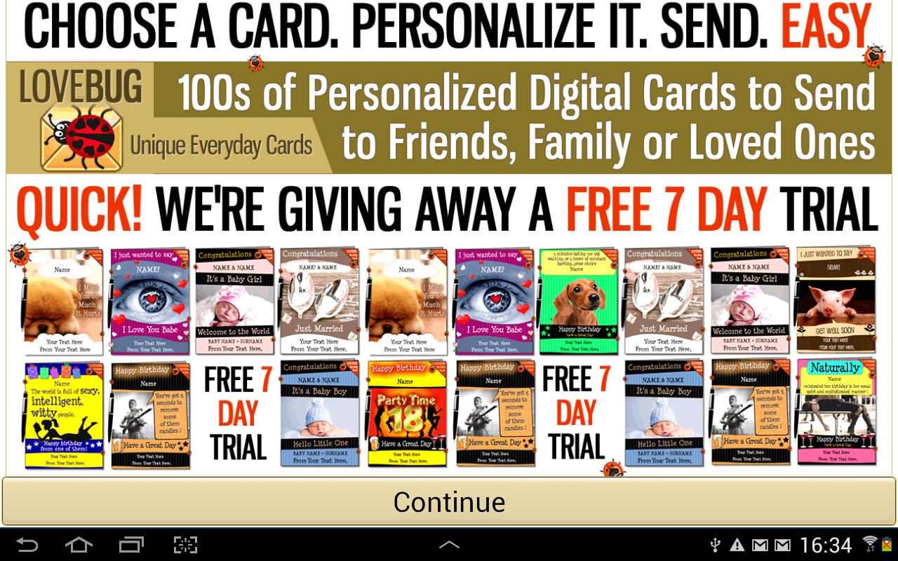 Personalized Greeting Card Pro Android Apps on Google Play – Birthday Card Personalized Free