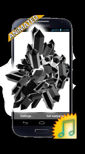 Crystals 3D Crafting Wallpaper