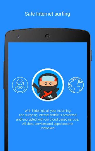 Screenshots #6. VPN Free VPN Hideninja / Android