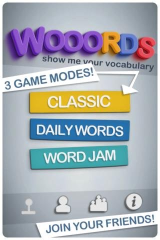 Wooords: The Word Puzzle Game- screenshot