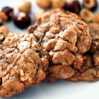 Oatmeal Chocolate-Chip (and Bean!) Cookies.