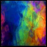 GO Keyboard Rainbow Theme