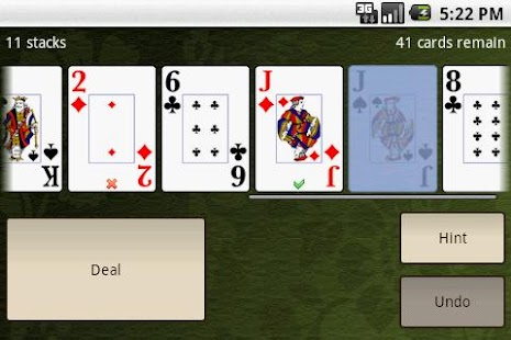 Accordion Solitaire Free - screenshot thumbnail