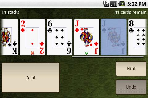 Accordion Solitaire Free - screenshot
