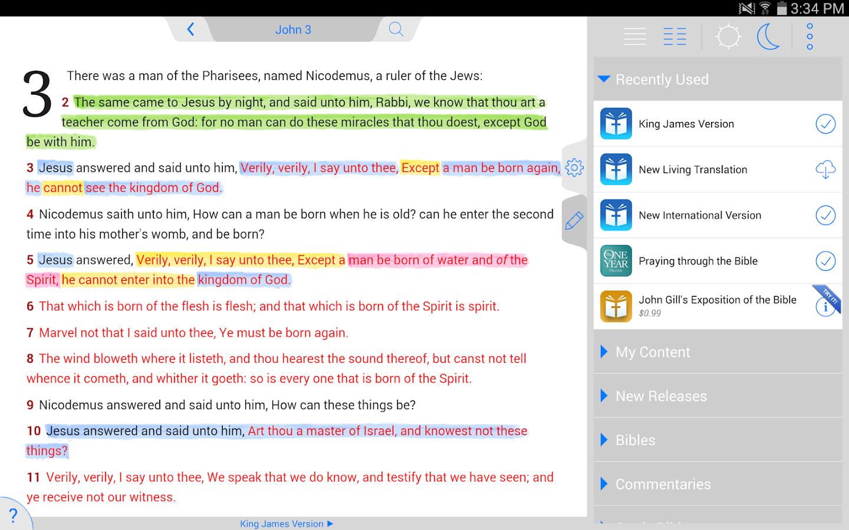 Holy Bible KJV (Offline) - screenshot