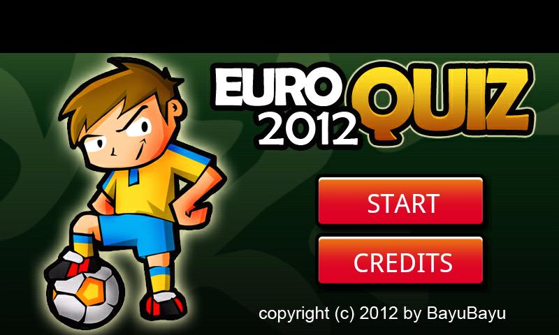 Euro Quiz 2012 - screenshot