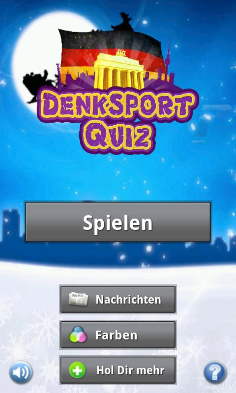 Denksport Quiz - screenshot