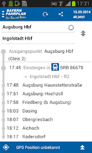 Bayern-Fahrplan - screenshot thumbnail