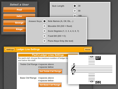 ClefTutor - Music Notes Game- screenshot thumbnail