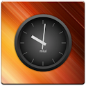 MIUI Dark Analog Clock Widget logo