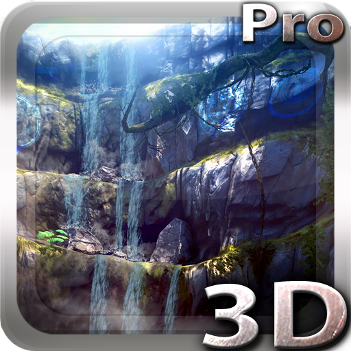 3D Waterfall Pro lwp app for Android