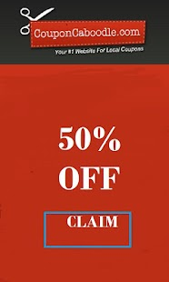 Glad Coupons - 50% Off - screenshot thumbnail