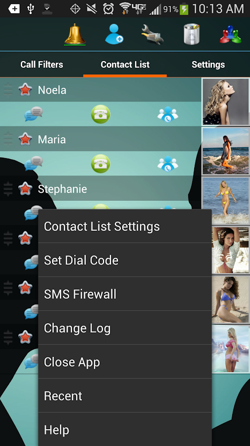 Shady SMS 4.0 - screenshot