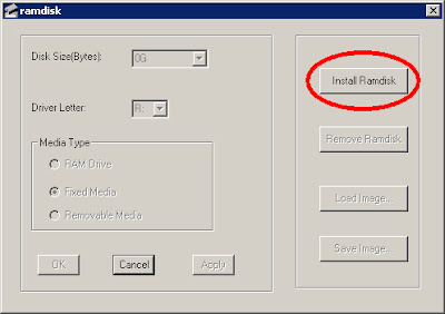 Gavotte RAMDisk 安裝