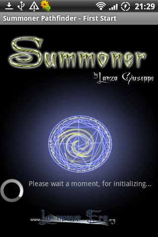 Summoner PF RPG Lite - screenshot