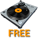 Virtual DJ Turntable Free logo