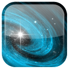 Galaxia fondo animado icon