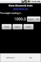 Screenshot of Android Scale