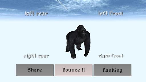 Bouncing Gorilla Simulator