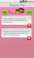 Screenshot of Beauty Tip