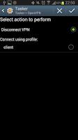 Screenshot of OpenVpn Tasker Plugin