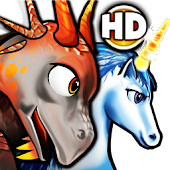 Pep the dragon & unicorn HD