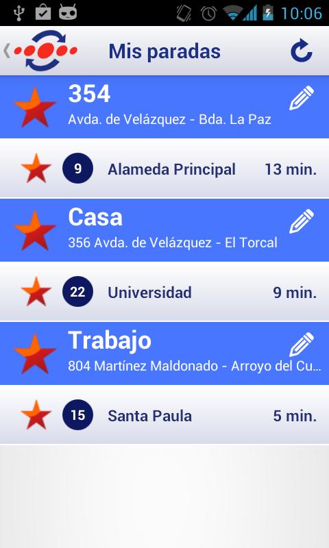 Emt m laga aplicaciones de android en google play for Horario oficina emt malaga