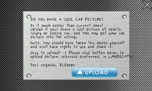 Cool Cars - Vote It! - screenshot thumbnail