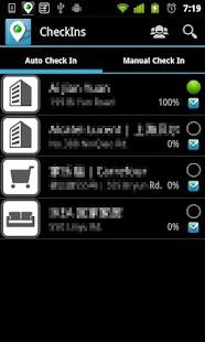 Auto Check In Lite- screenshot thumbnail