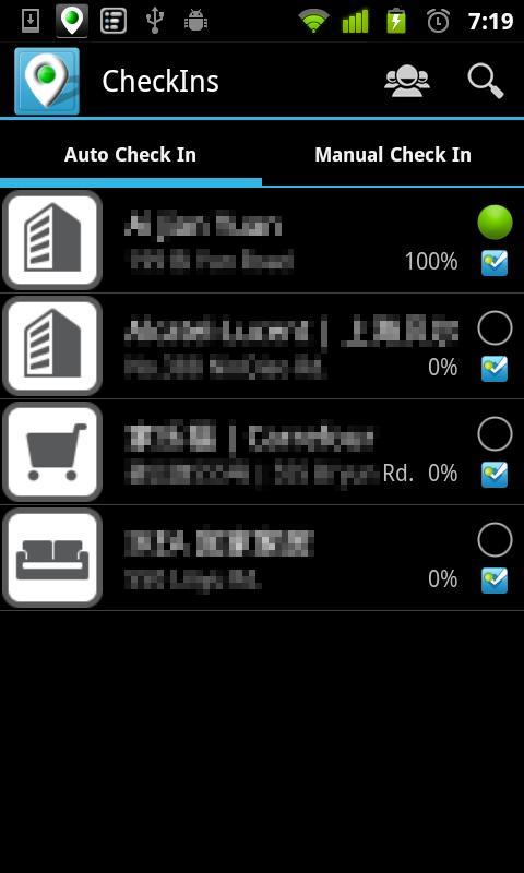 Auto Check In Lite- screenshot