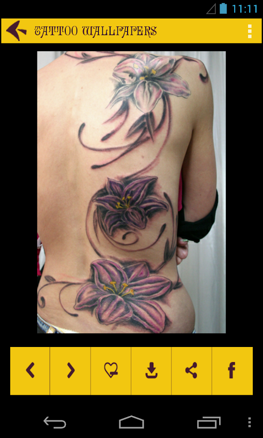 Tattoo wallpapers android apps on google play for App for tattoos