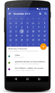 Today Calendar Pro Screenshot 1