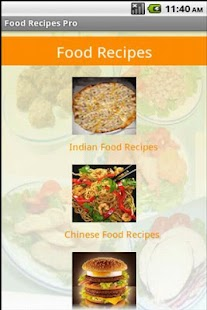 Food Recipes Pro - screenshot thumbnail