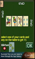 Screenshot of Cards scoba 15